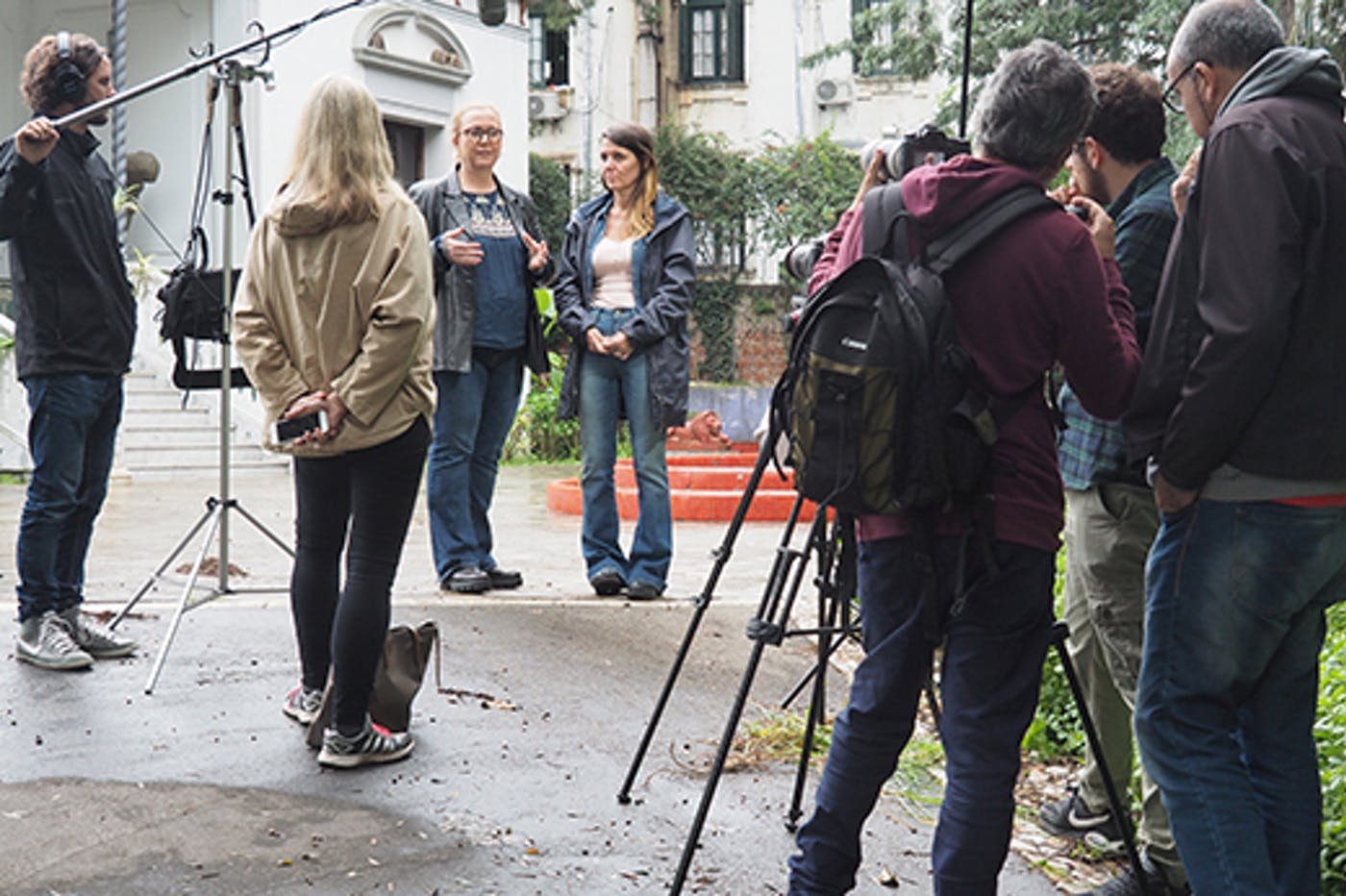 520 Dokumentarfilmopptak Uruguay Lene Cecilia Caballero Jeske Foto Ulf Breistrand