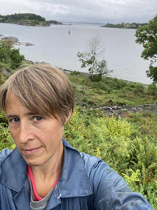 Astrid Urdal Selvportrett